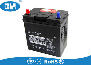Super Start Lead Acid Car Battery 12v 36Ah  Low Self - Discharge Large Current Capability