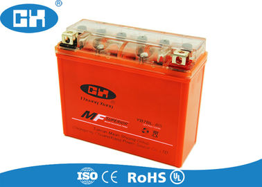 12v 7Ah Sealed Gel Motorcycle Battery Large Current Capability 148 * 61 * 128mm