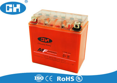 Maintenance Free Gel Cell Motorcycle Battery 12v 9Ah , Lead Acid Motorbike Gel Battery