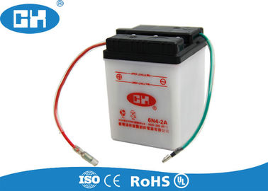 Small 6 Volt 4ah Rechargeable Battery , Dry Charged Sealed Lead Acid Battery 6v 4ah