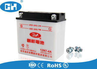 Scooter 12v Lead Acid Battery 146 * 75 * 133mm 1.75 / 1.97KG Acid Resistance