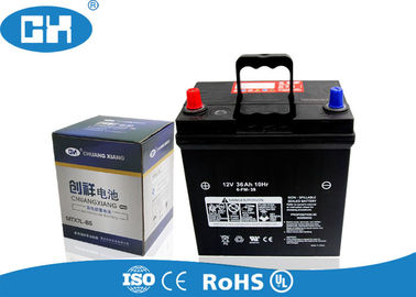 High Performance Lead Acid Car Battery Fast Starting Reaction No Maintenance