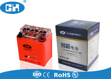 China Sealed Gel Filled Motorcycle Battery , Igh Cycle Count 12v Motorcycle Battery supplier