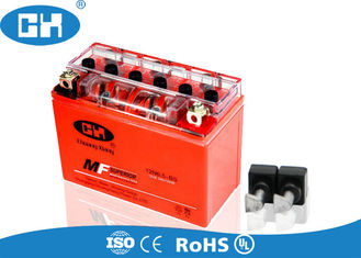 High Capacity Motorbike Gel Battery , Valve Regulated Lead Acid Battery