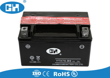 125cc Black Maintenance Free Motorcycle Battery Dry Charged For Scooter