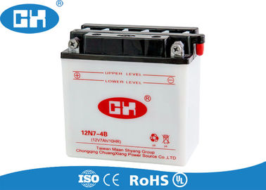 Conventional Dry Cell Motorcycle Battery , 12v Motorbike Battery Corrosion Resistant