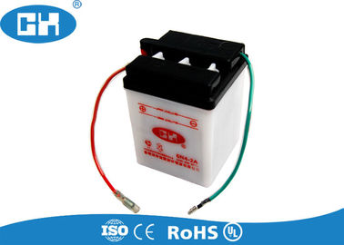 Rechargeable 6v Lead Acid Battery Big Capacity 88 * 85 * 96mm 0.45kg Durable